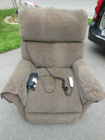 3 Year Old Power Lift Recliner in excellent condition