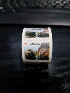 One roll of 100 permanent stamps