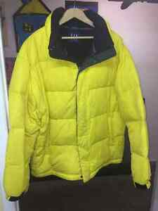 GAP, DOWN, WINTER JACKET, MEN'S X-LARGE - NICE