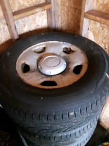 FORD F150 rims and winter studded tires