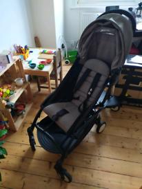 RESERVED Yoyo babyzen pushchair + footmuff + buggy board