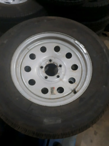 2 265/75/16 trailer tires on 5 bolt rims