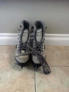 New CCM 50 SP Grey Sale & Pelletier Youth Girls Ice Skates