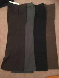 8 pairs of tailored ladies trousers