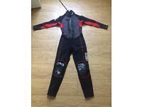 Men's small wetsuit