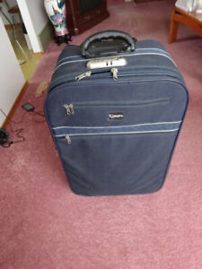 Navy Blue Suitcase