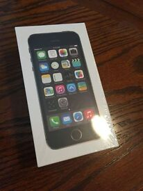 NEW SEALED, APPLE iPHONE 5s, 64gb, BLACK / SPACE GREY,FACTORY UNLOCKED,1 YEAR UK WARRANTY,COLLECTORS