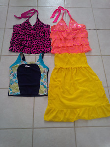 Kids Bathing Suits Tops, Cover up
