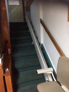 Electric Stair lift for 10 stairs.