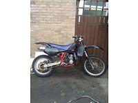 Husqvarna 250cc off road Bike like Dt yz cr rs etc