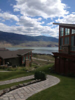 Exec Furnished  Townhouse with stellar views of Kamloops Lake