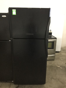 "30"" Frigidaire Black Right Handle Fridge"