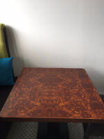 CLEARANCE TABLE TOPS FOR RESTAURANTS/CAFE/BISTRO