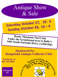 Lethbridge Rangeland Antique & Collectors Club Show & Sale