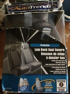 ONE grey seat cover NEW