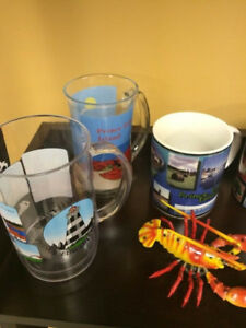 NEW lot of PEI tourism items - shirts, decor, lighthouses, more