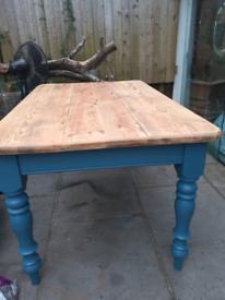 Country farmhouse table