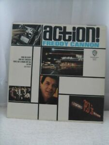 FREDDY CANNON-Action-Warner Brothers-1612 LP Record.