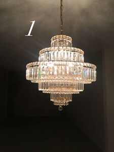 CHANDELIER AND CEILING LIGHTS