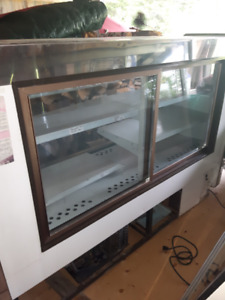 2 Display Coolers , perfect condition , must pick up .