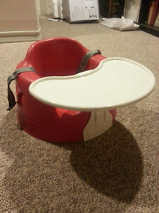Bumbo chair with straps