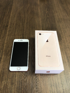 IPHONE 8 64GB ROSE GOLD À VENDRE! DEVERROUILLÉ/UNLOCK GARANTIE