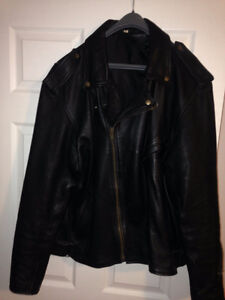 Mens leather biking clothes