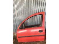 Vauxhall combo doors