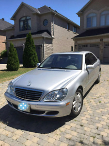 Low mileage Mercedes S500 at only $9,999