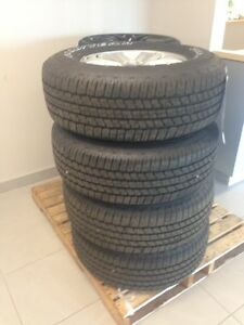 265/70R17 2015 Ford F150 tires, Rims, TPMS! Windsor Region Ontario image 2