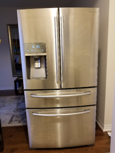 Samsung French door (4 doors) fridge - neat condition (2014)