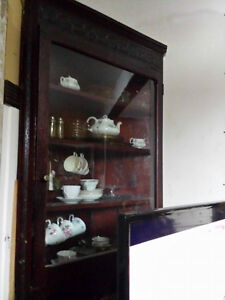 Antique Hanging Corner Cabinet 100+ years old