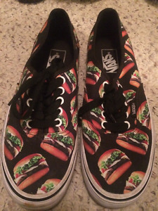 VANS AUTHENTIC CANVAS - BURGER DESIGN + TACO/BURGER SOCKS