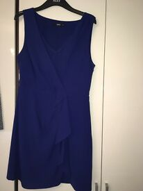 Blue Oasis Cocktail Dress - Size 12