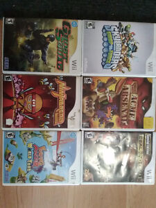 Wii and PlayStation 2 games