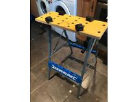 Unused silverline woodworking bench like black and decker