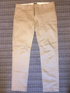 Men's NEW J.Crew Chino Pants - Beige SIZE 30x30