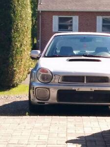 2002 Subaru WRX Berline  4000$ Était 5500$!! **AUCUNE ÉCHANGE**