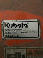 Kubota B2778 Rotary Broom Attachment
