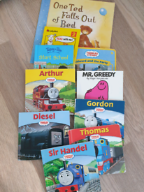 THOMAS TANK ENGINE BOOKS & others