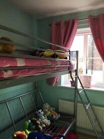 High sleeper/double futon (mattress not included)