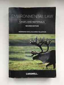Used Environmental Law - Cases and Materials