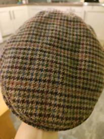 Genuine Barbour flat cap medium