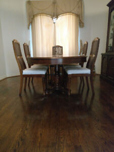 Solid Cherry Dining Room Suite