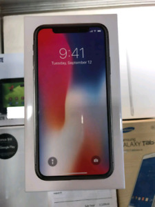 Iphone x 256gb Sealed $1350
