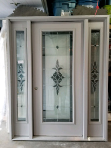 "36"" New Entry Fiberglass Door"