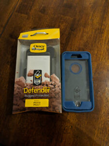 USED OtterBox Defender Series Case for iPhone 8 & 7 -Big Sur Blu