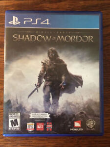 Middle Earth-Shadow of Mordor - Sony Playstation 4 - PS4