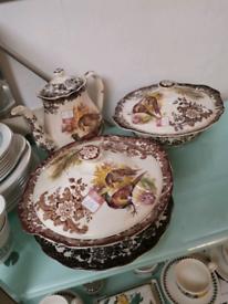 Palissy game series dinnerware tea pot