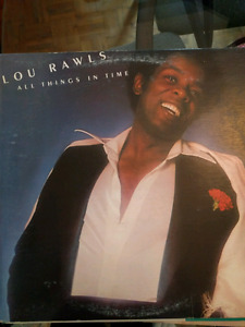 Vinyl Records- Lou Rawls/Dionne/Teddy Pendergrass and more (VG)